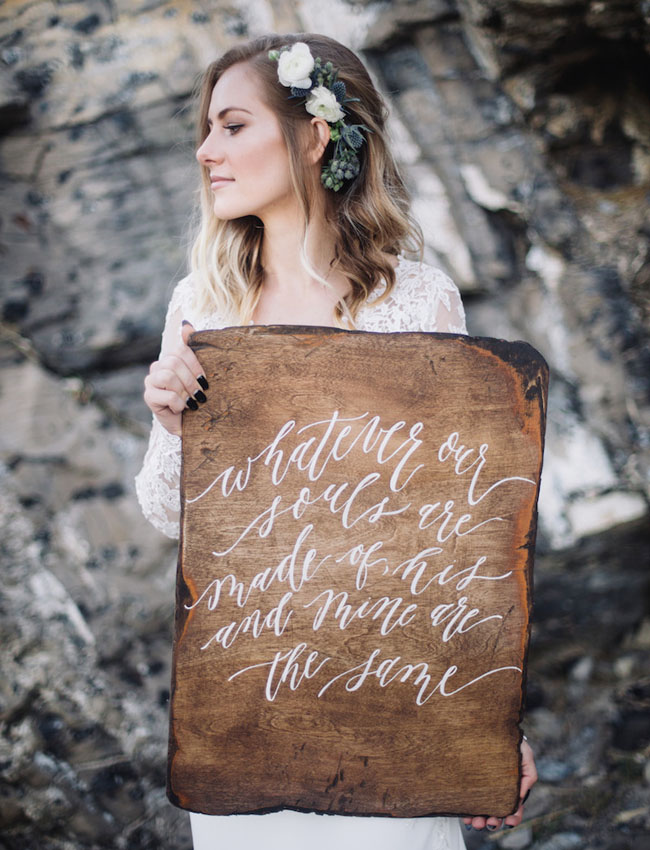 Custom wooden wedding signs inspired of nature perfect for outdoor wedding theme