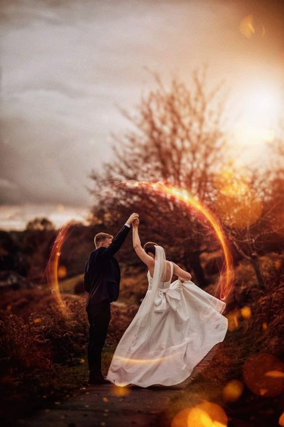 Fall rustic out door sunset wedding pictures ideas wedding photo ideas