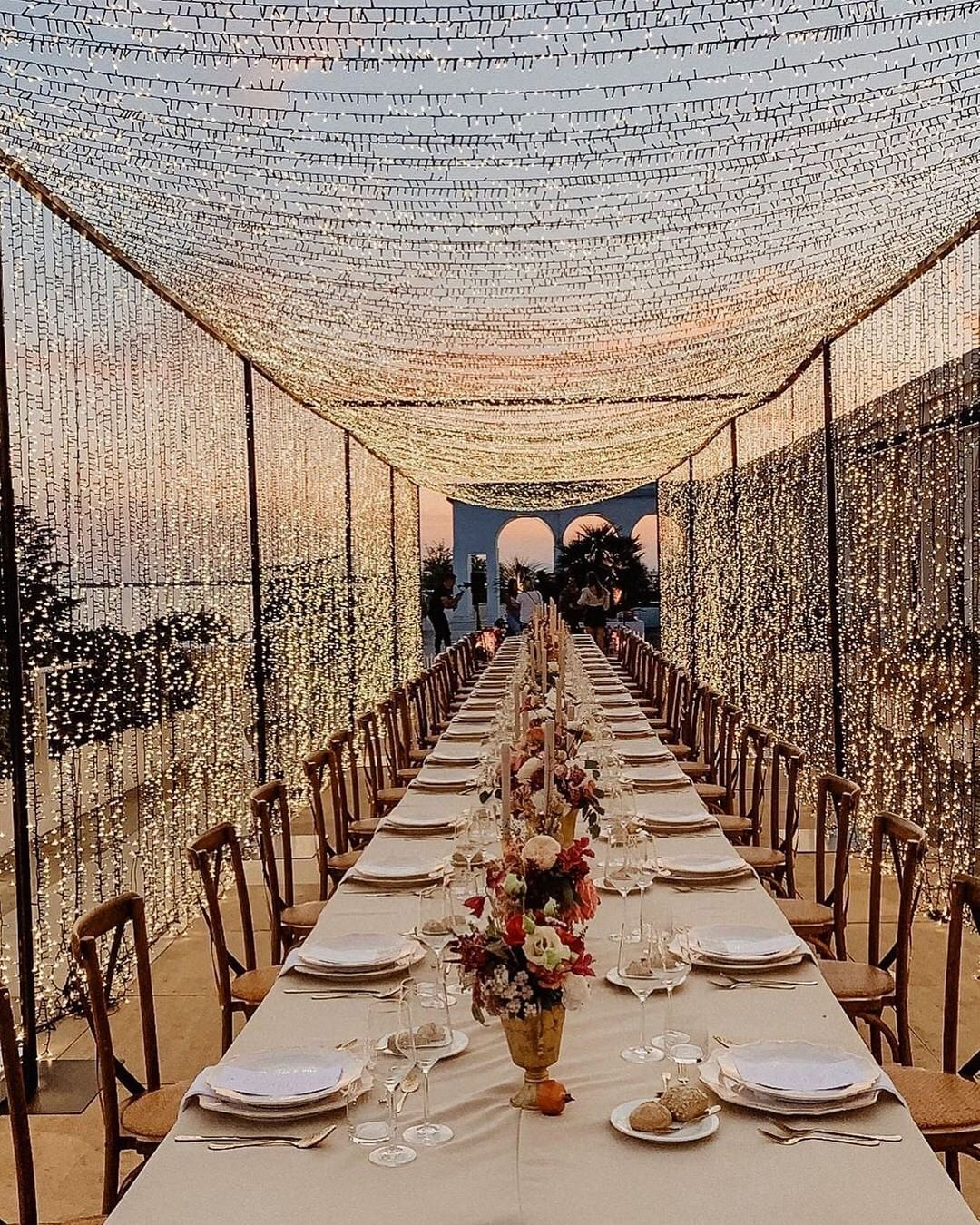 amazing barkyard wedding reception ideas