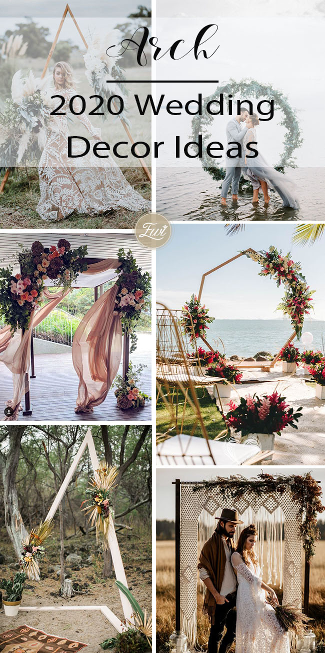 fantastic wedding decor arch ideas