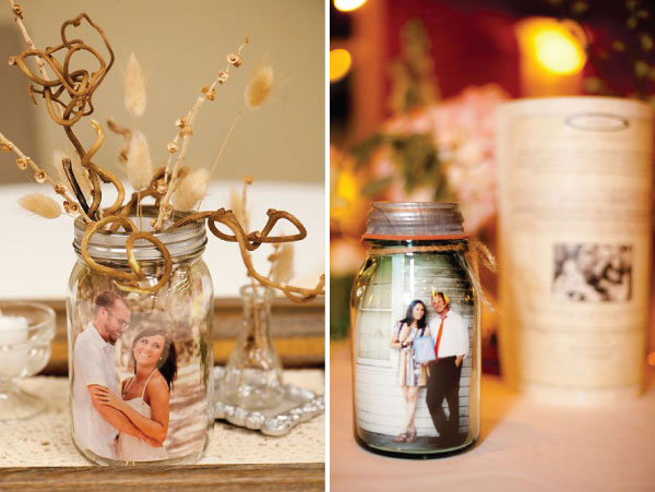 rustic mason jar wedding decoration ideas