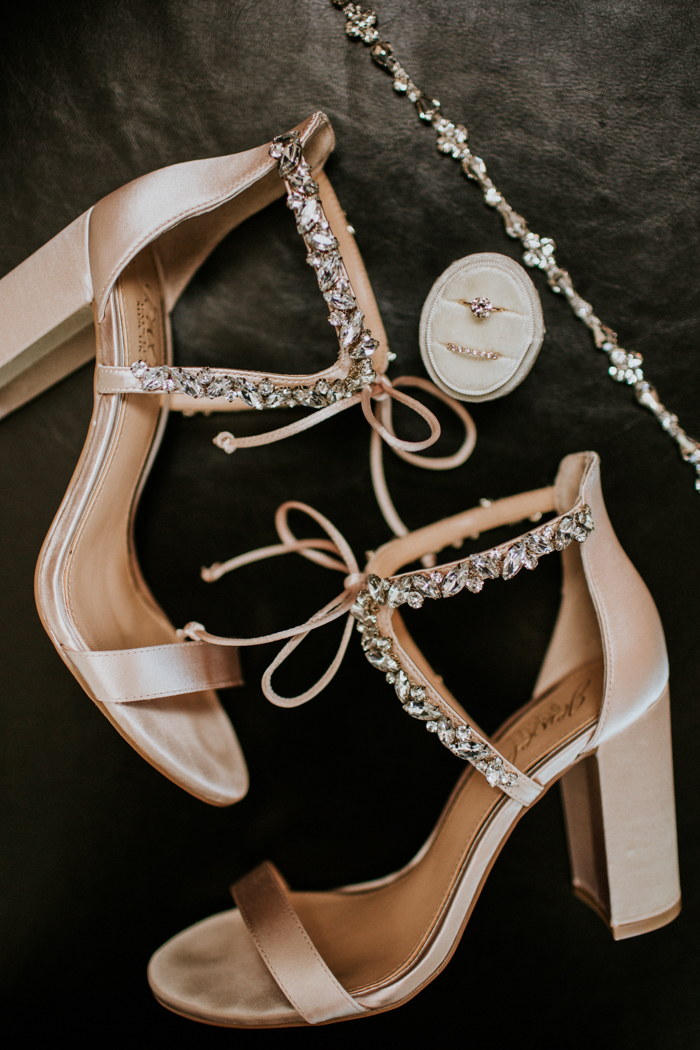 vintage inspired celestial champagne wedding shoes ideas