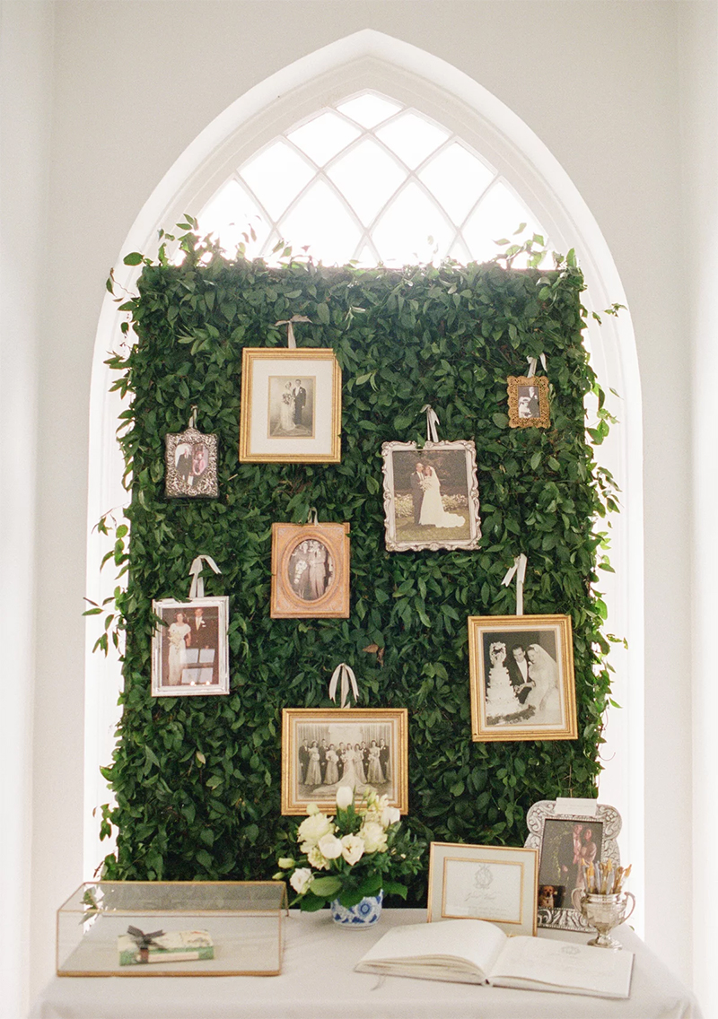 wedding photo display backdrop wall decoration ideas