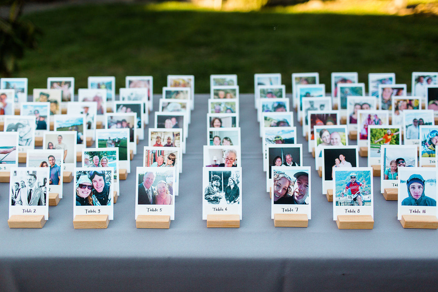 wedding seat easy easel card decoration display ideas