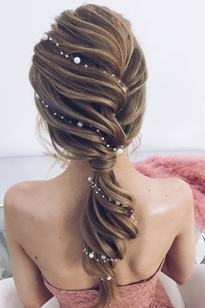 20 best ponytail updos for wedding hairstyles