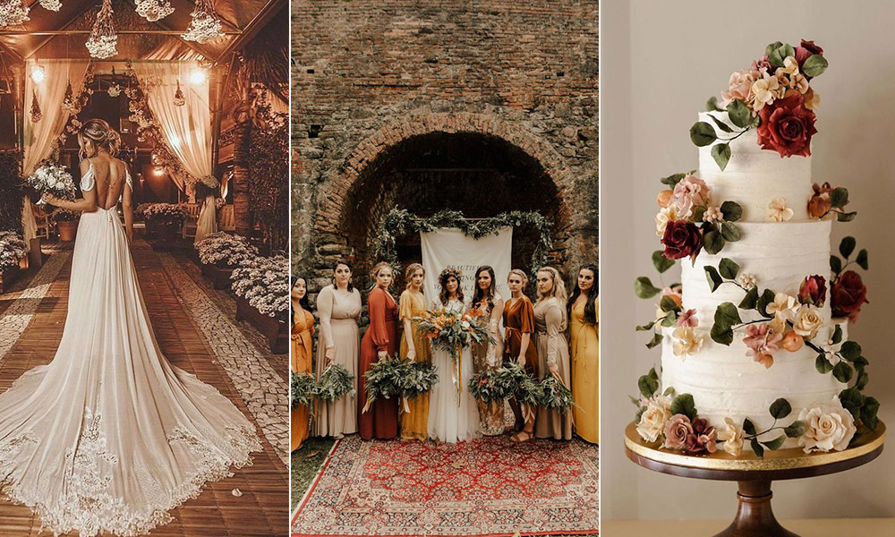 2020 fall wedding trends for brides to inspire