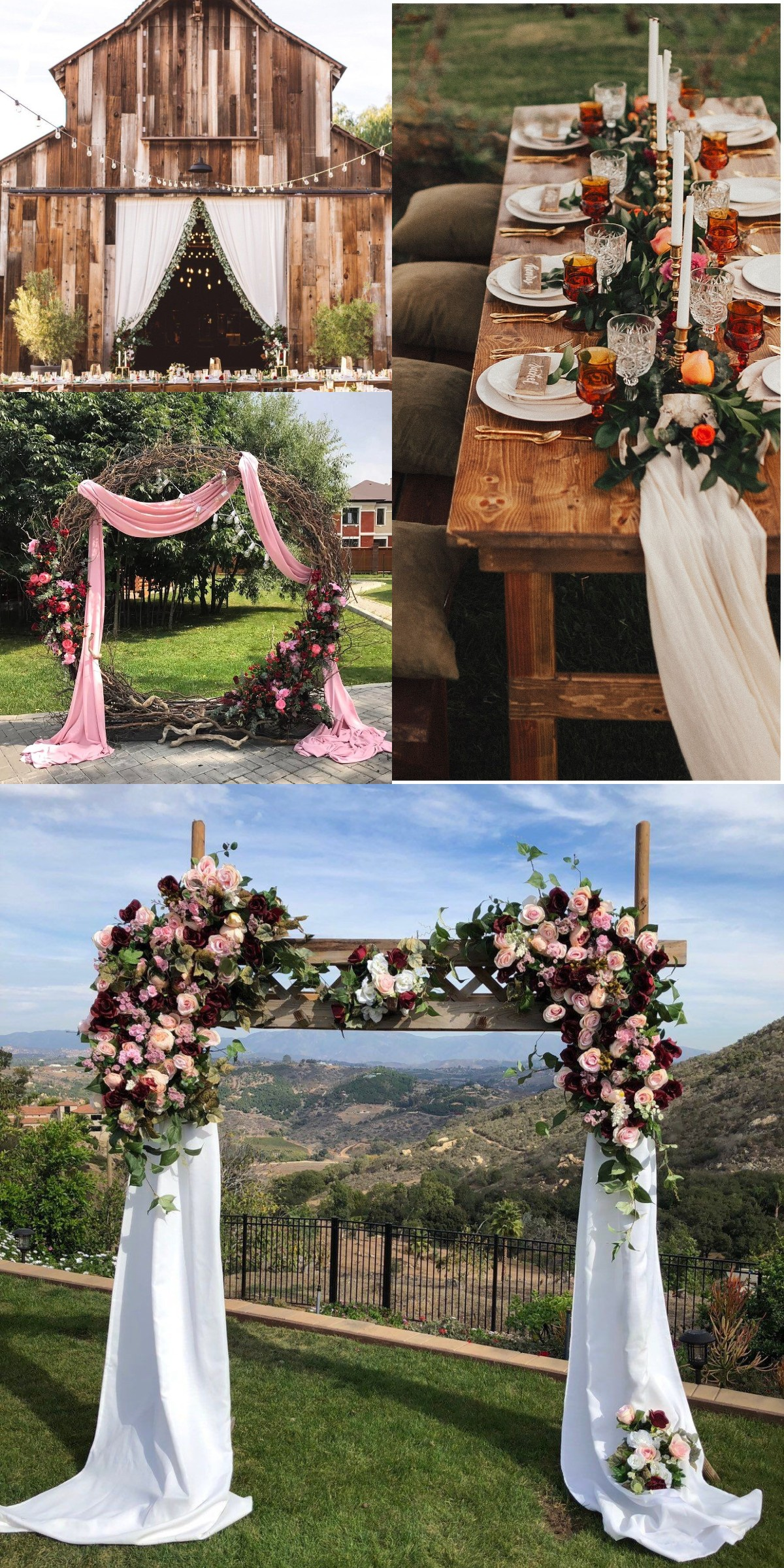 burgundy blush wedding arch flower package,burgundy weddings,wedding arch flowers, circle wedding arch