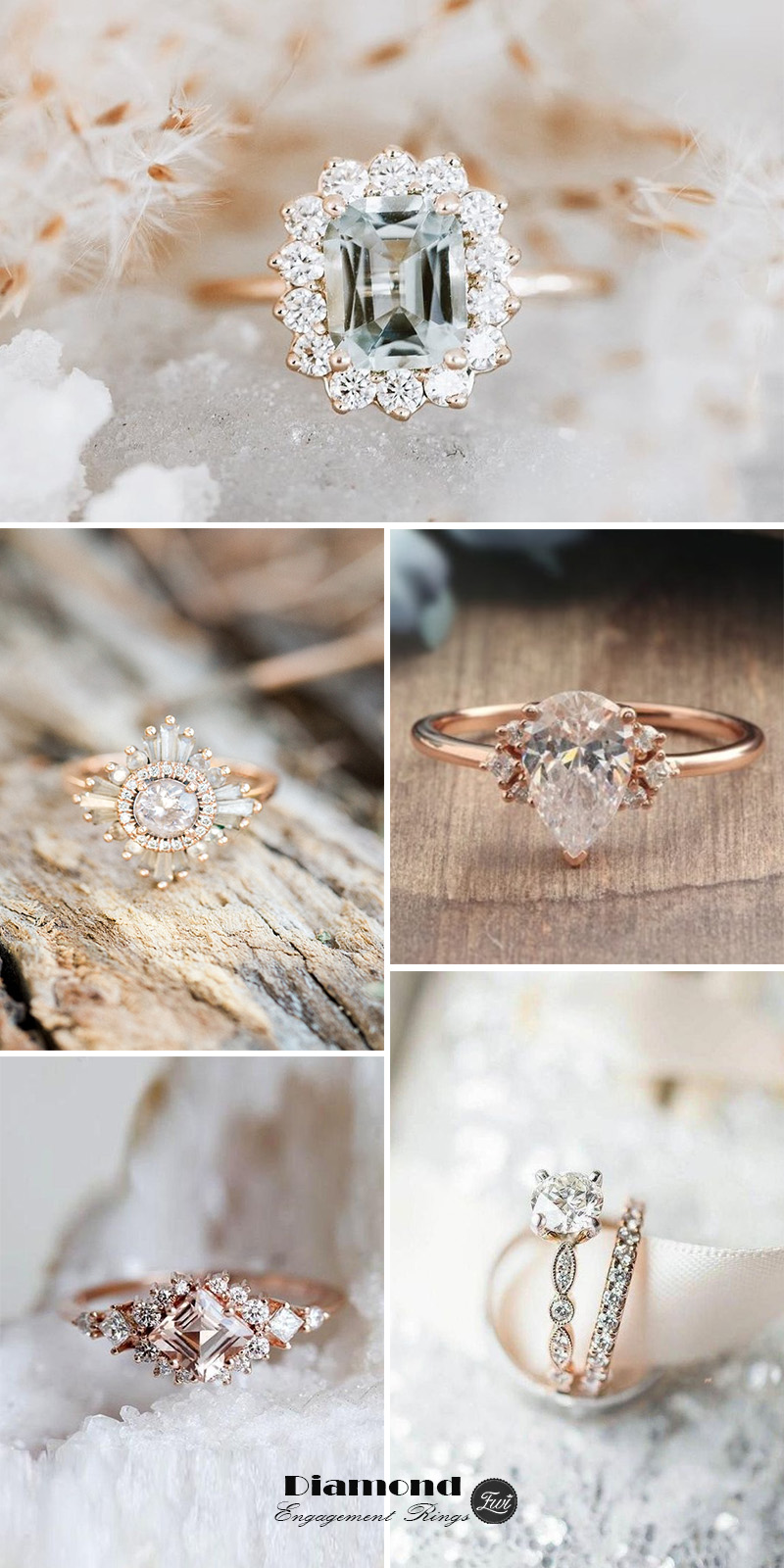 Diamond wedding rings engagement ring