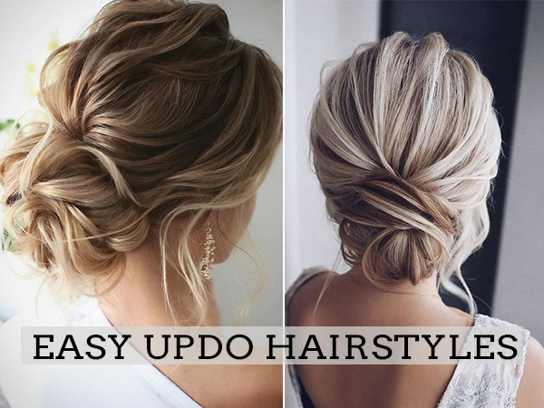 easy updo wedding hairstyles