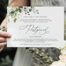 22 best wedding invitations & matched change the date card for postponed wedding