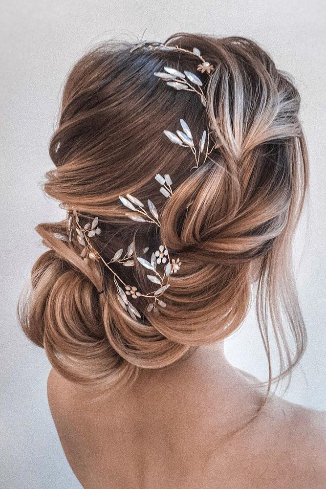 loose wedding braid bridal hairstyles