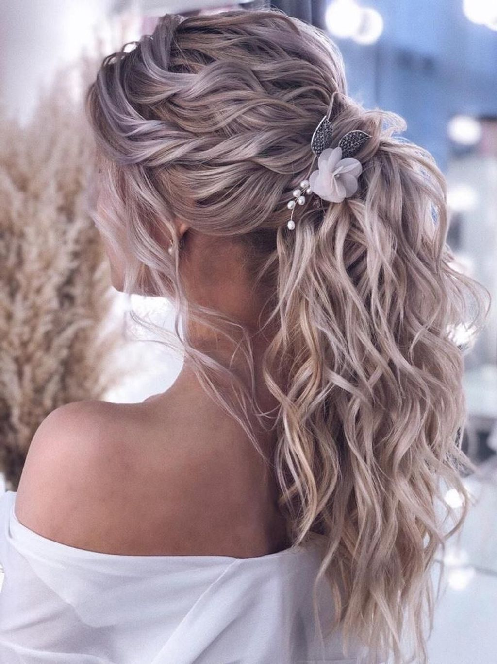 19 Prettiest Ponytail Updos for Wedding Hairstyles - Elegantweddinginvites.com Blog