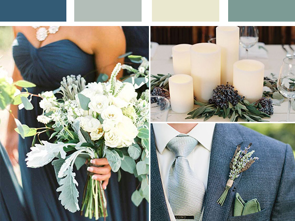 sage green wedding color inspiration