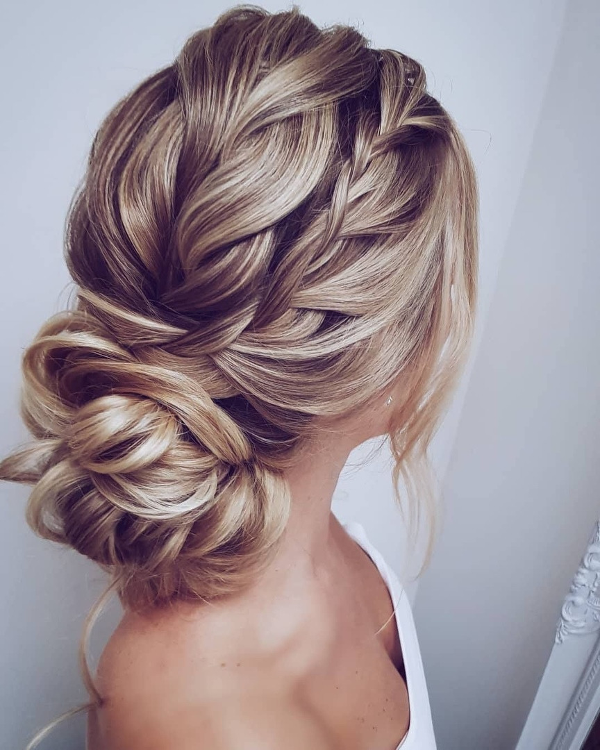 simple braided wedding hair own