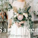 30 Natural Sage Green Theme Wedding Ideas