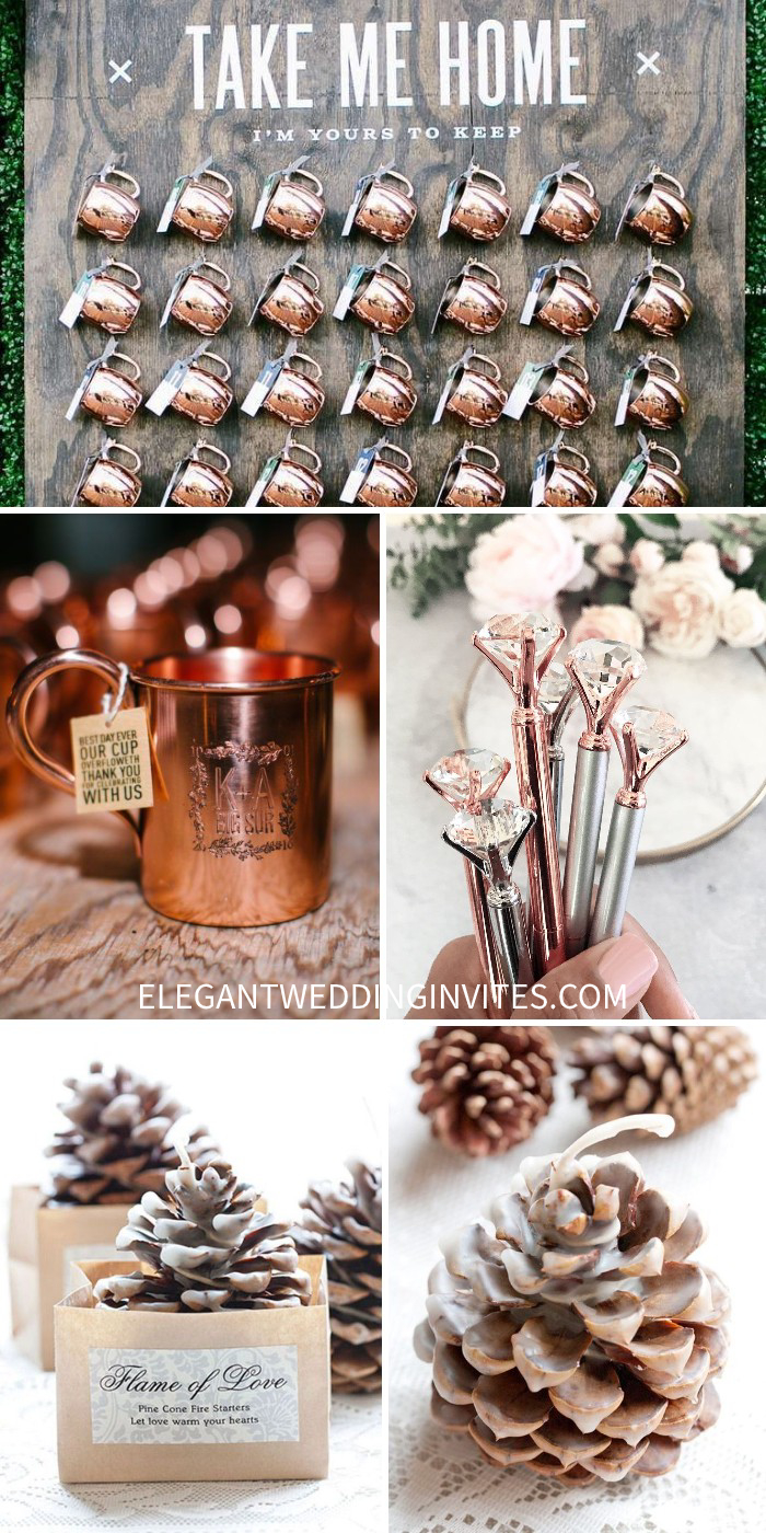 awesome and inexpensive wedding favors that are not jam