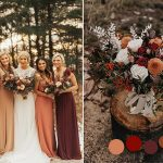 10 Gorgeous Color Combos to Consider for Your Fall Weddings-Part 1