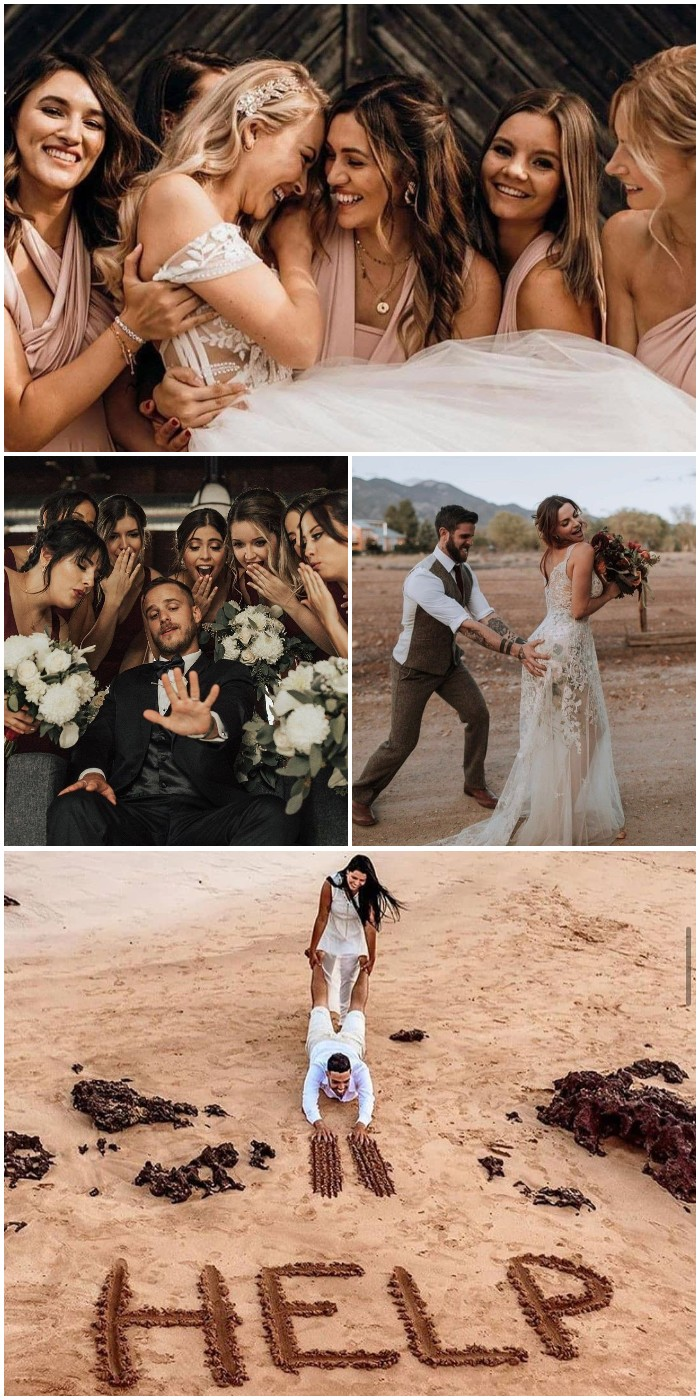 fun ideas for wedding photo ideas