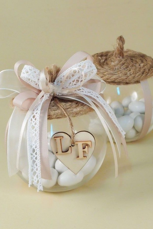 personalized wedding favors ideas for your guests with your initials