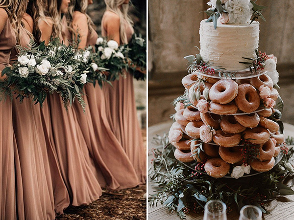 rust orange fall wedding trends