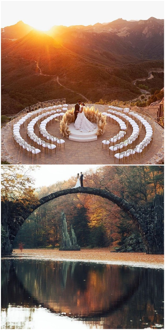 stunning fall wedding photo ideas