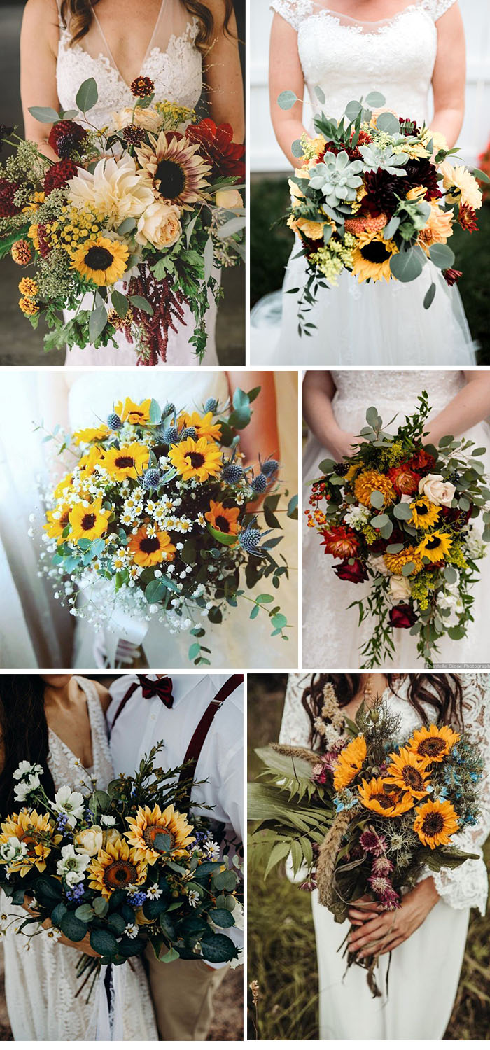 30 Cheerful Sunflower Wedding Ideas For A Rustic Chic Wedding Elegantweddinginvites Com Blog
