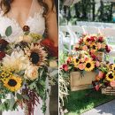 30 Cheerful Sunflower Wedding Ideas for a Rustic Chic Wedding