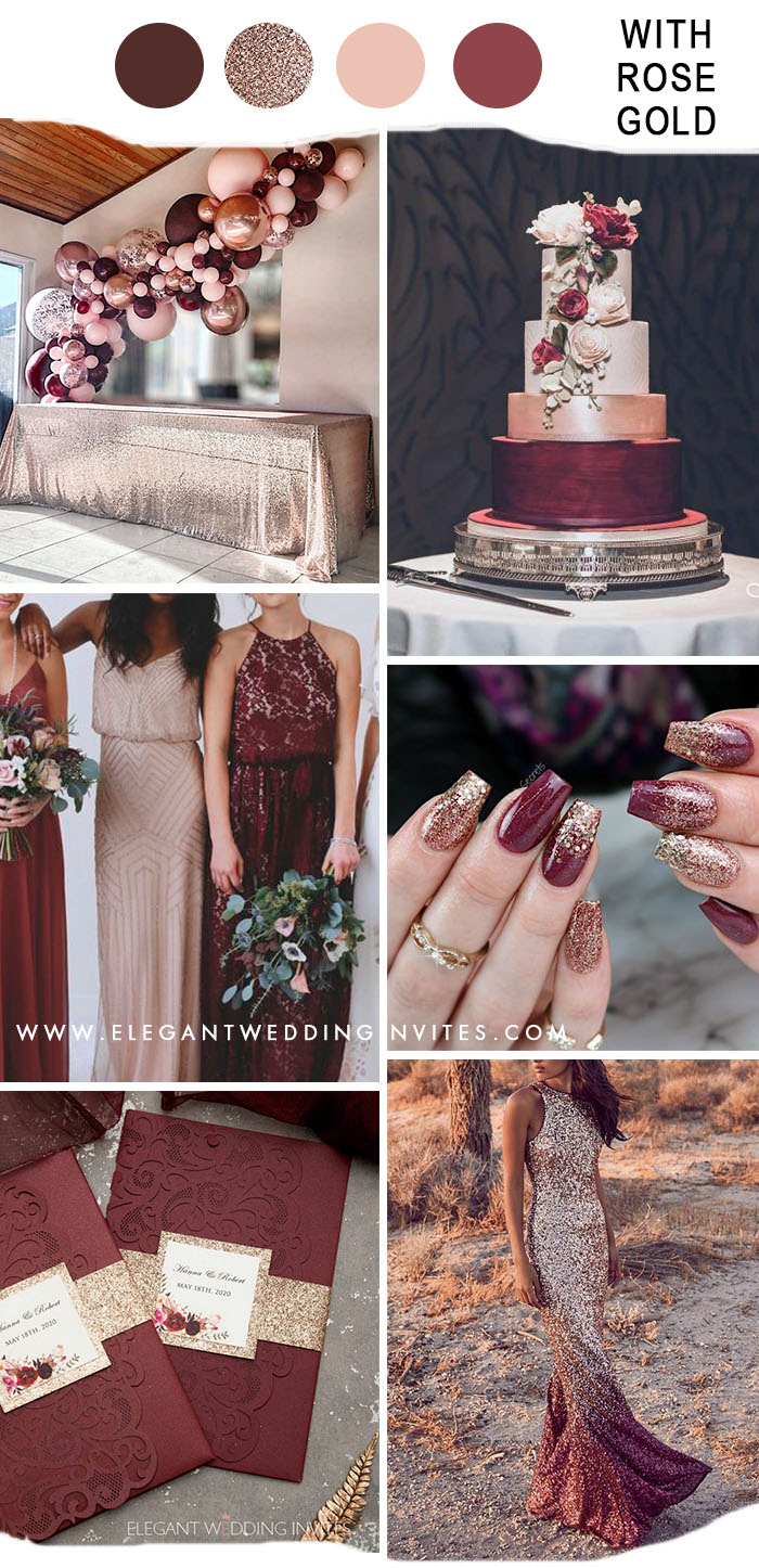 top fall wedding color trends for fall & winter