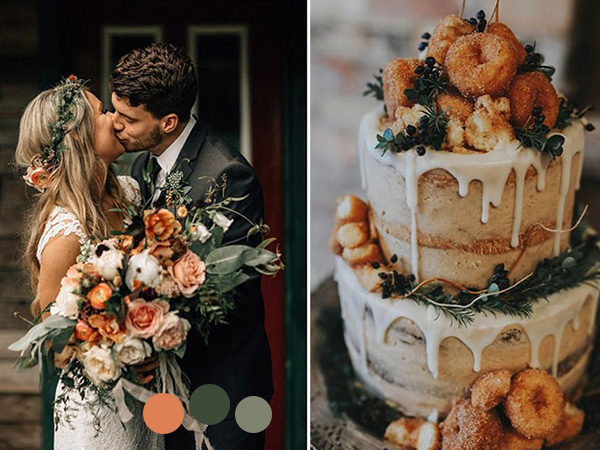 trending fall wedding colors