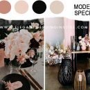 9 Ways to Rock a Unique Fall Wedding Color with Romantic Blush Hues