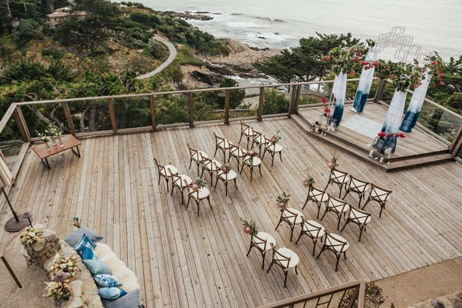 small and intimate wedding ideas with arrange chairs in a refreshing way