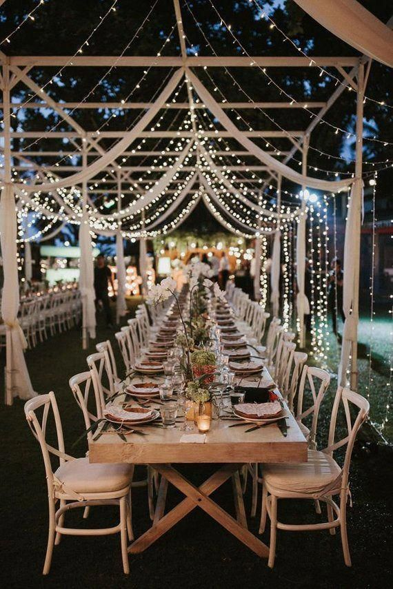 small and intimate wedding reception ideas with family style dinner