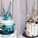 So Stunning 20 Chic Wedding Cakes For Fall Wedding Ideas