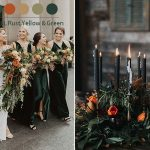 Get Inspired by 10 Chic Moody Wedding Colors for Fall and Winter