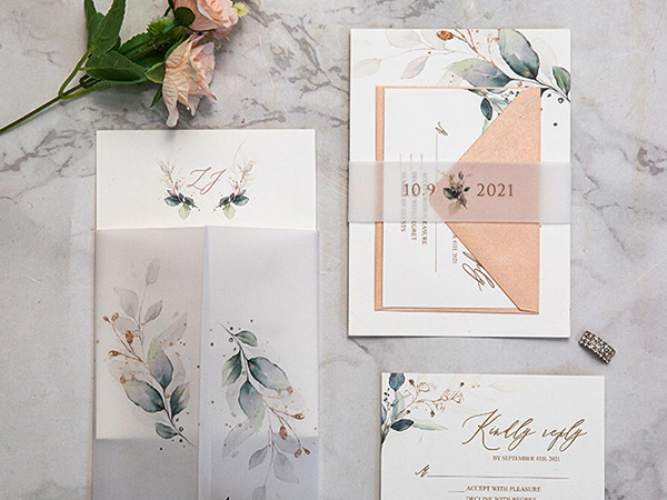 new modern wedding invitation designs for cool brides