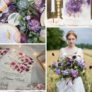 8 FABULOUS SHADES OF PURPLE WEDDING COLOR PALETTE TRENDS FOR 2020/2021