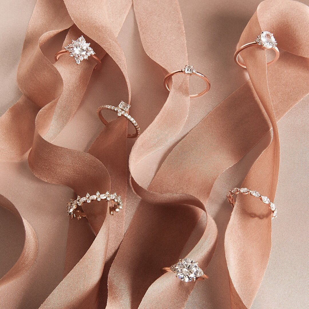 the best rose gold engagement ring styles
