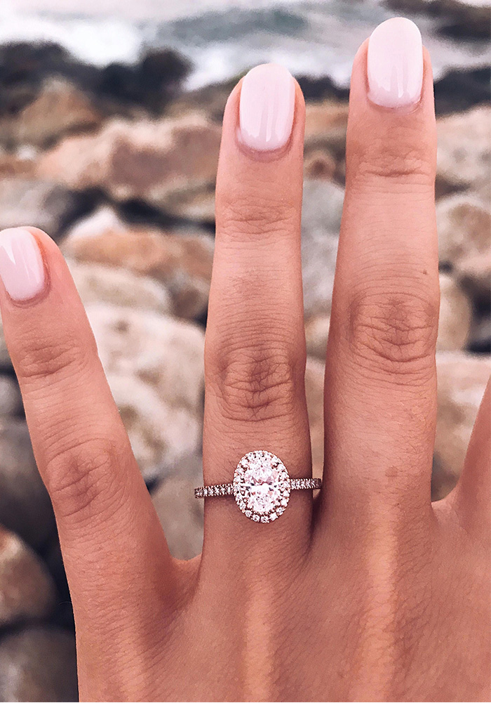 utterly gorgeous oval diamond engagement rings