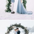 30+ Frozen Winter Wonderland Wedding Ideas