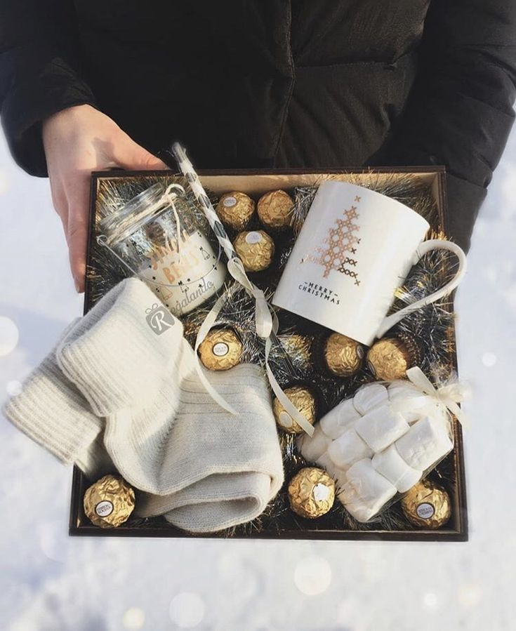 diy seasonal wedding gift basket ideas for winter