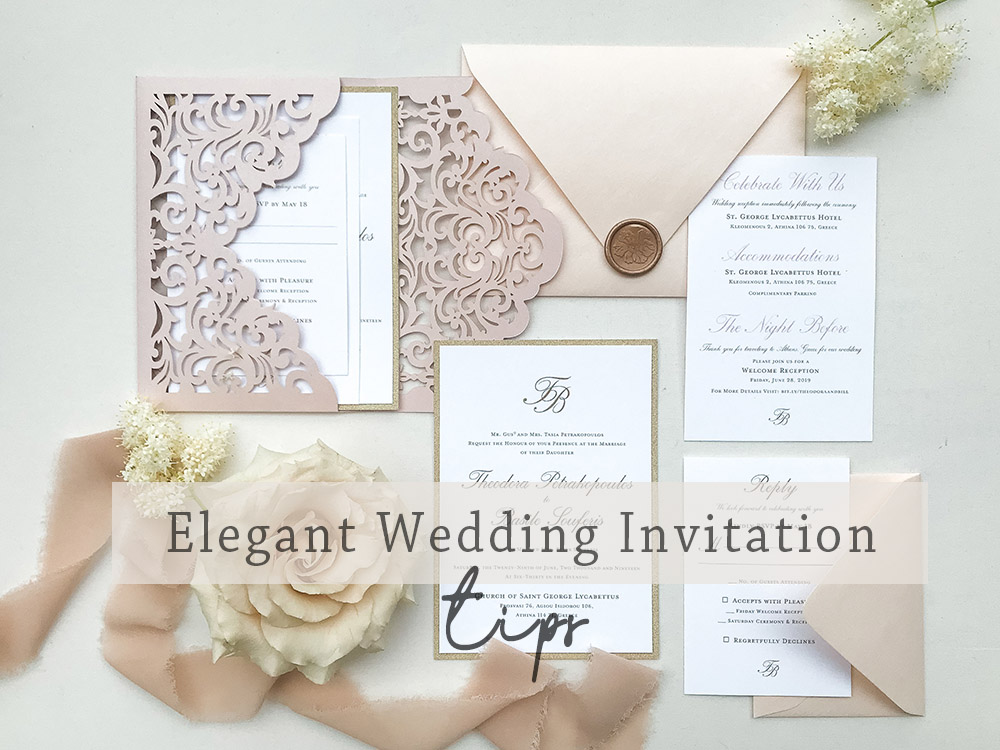 elegant wedding invitation tips ideas
