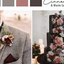 7 So Gogorgeous Fall & Winter Flower Inspired Wedding Colors