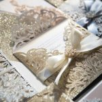 How to Use ….Metallic/Glitters in Your Wedding Invitations