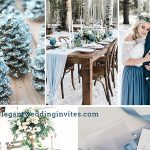 Top 10 Different Winter Wedding Colors & Themes