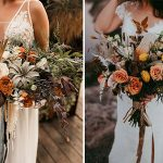 30 Stunning Wedding Bouquets for Autumn Brides to Inpire