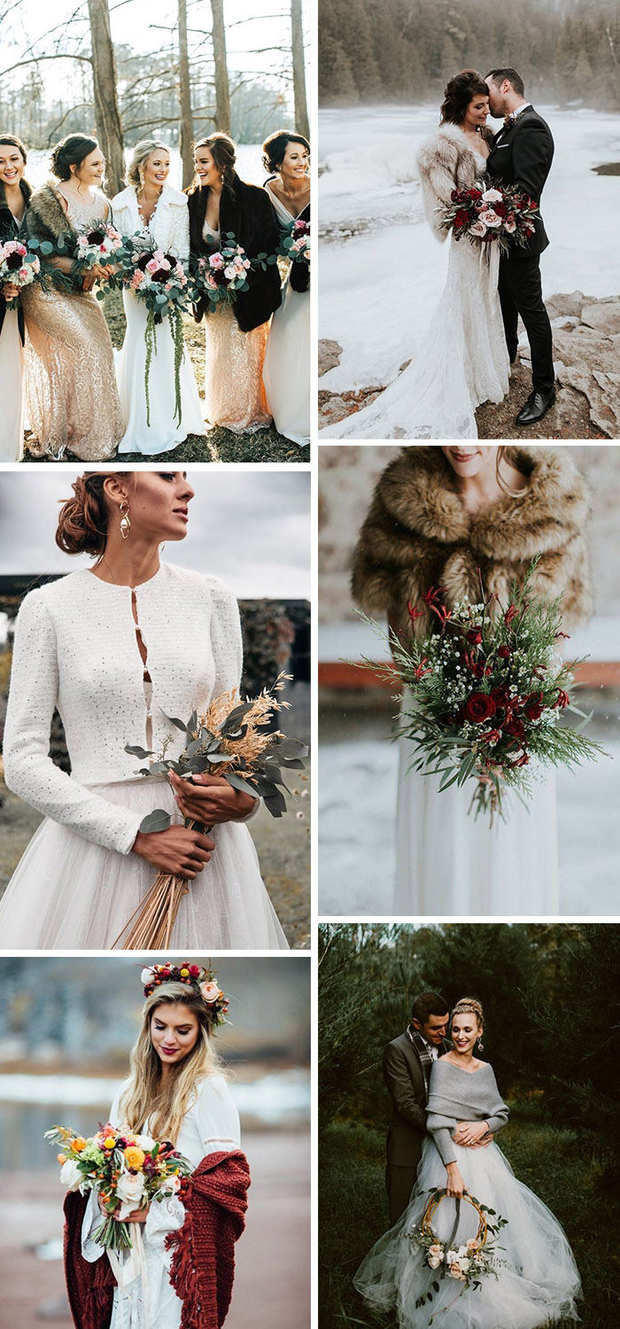 the best winter wedding attire ideas