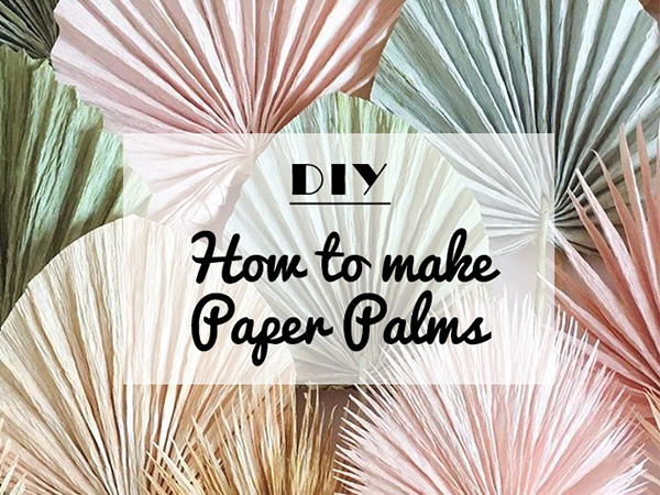 easy to make paper decoration for a diy wedding