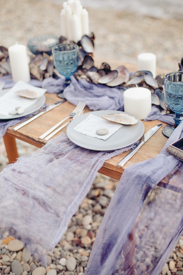 light blue and lavender for rustic wedding ideas