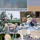 10 Unique Purple Color Macthing Wedding Ideas Inspired from Monet's paintings
