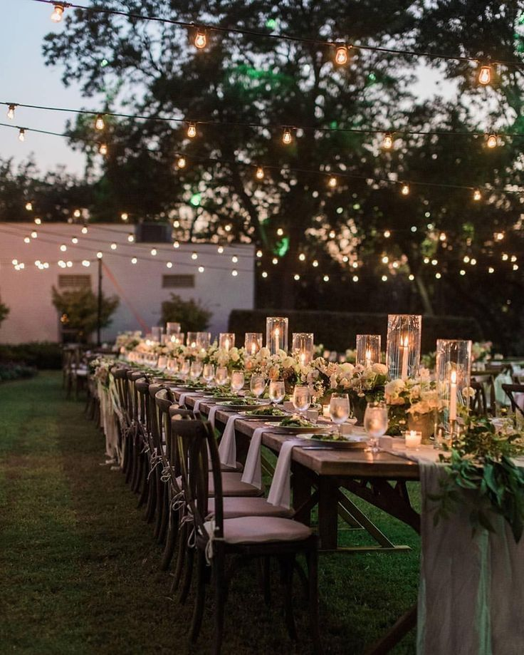 30 Ingenious Ideas for a Small Intimate Backyard Wedding ...